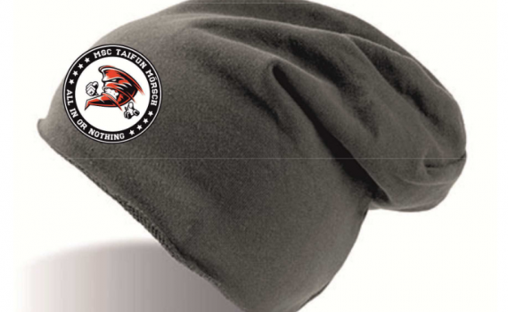 "Beanie ""All in"" schwarz"